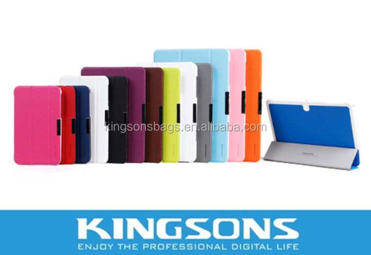 "PU Leather For 10.1"" Samsung Case ATIV Tab3 XE300T,7""& 8.4""&12.2 Tablet Cases Available"