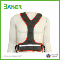 High quality adjustable GYM strength training sand weight vest