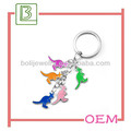 Novelty hot sale promotional keychain chain in Dongguan