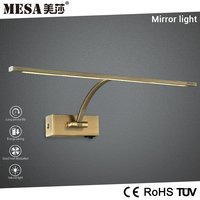 modern adjustable antique brass patio led picture lamp