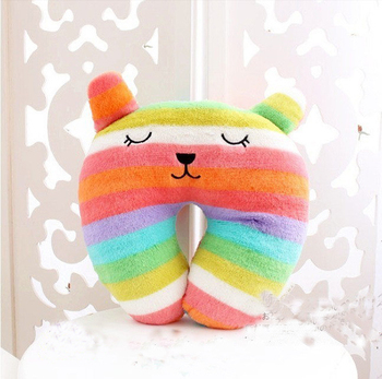 Fashion Animal Cartoon U-shape Car Seat Neck Pillow