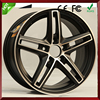 15 inch 5 hole car alloy wheel rim manufacturers