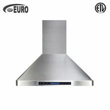 "Top Sale 36"" heavy duty kitchen hood American Style Wall Mount Stainless Steel Range Hood"