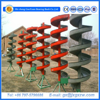 Spiral conveyor/spiral chute for mineral processing