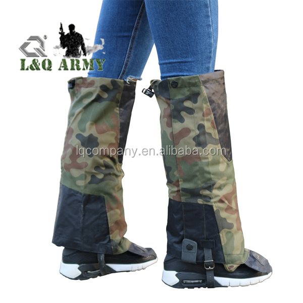 Military Waterproof Boot Leg Gaiters