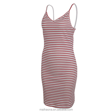 Singlet Stripe Fitted Dress