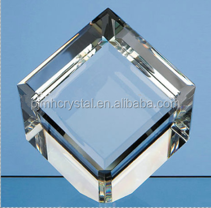 MH-FT036 New Design Cube Blank Crystal Paperweight