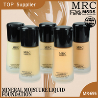 High quality skin care waterproof whitening liquid foundation