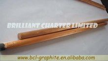 Arc Air Gouging Carbon Rod With Groove welding rod gouging electrode