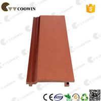 Top grade cheap red wood plastic composite siding