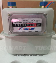 Residential diaphragm gas meter G1.6