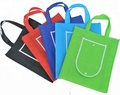 Colorful reusable foldable promotional pp non-woven bag