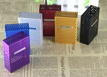 2017 Wholesale high quality metal recycle silicone cigarette case