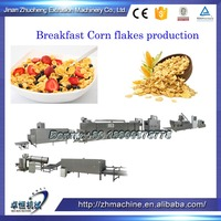 Grits corn flakes making machine