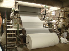 Turn-Key Project 2100mm toilet tissue paper making machine, raw material: bamboo,wood, straw, stalk,etc.