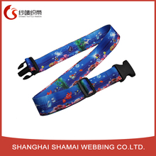 Custom made suitcase set elastic luggage belts strap for abroad travelling