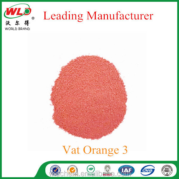 C.I. vat Orange 3 brilliant orange RK fabric dye