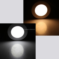 super slim 10w led panel light 4'' round with factory price