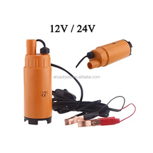 12V / 24V DC Plastic MINI Diesel Fuel Water Oil Diesel Fuel Transfer Pump Submersible Transfer Pump On/Off Switch Car Van