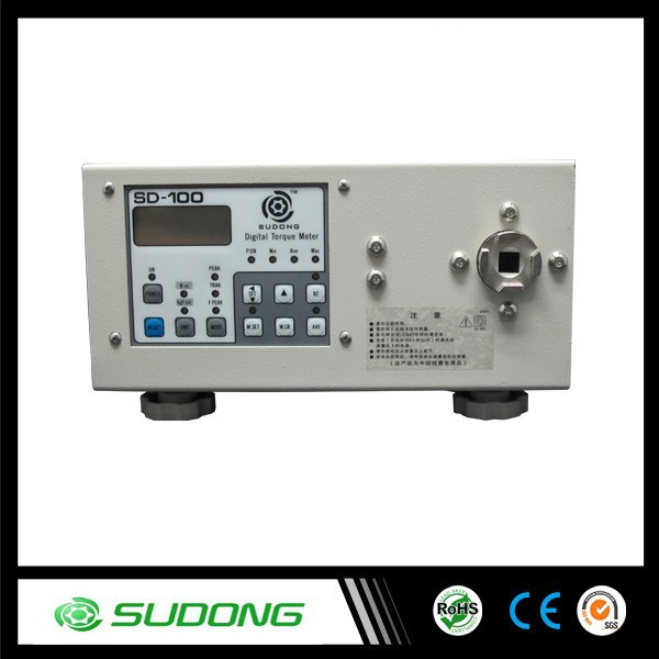 SD-100 Electronic Digital torque meter with three change-over Units,torque metre