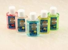 Huiji/OEM 50ml anticeptic hand sanitizer gel