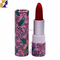 custom lipstick empty paper case lighted lipstick case