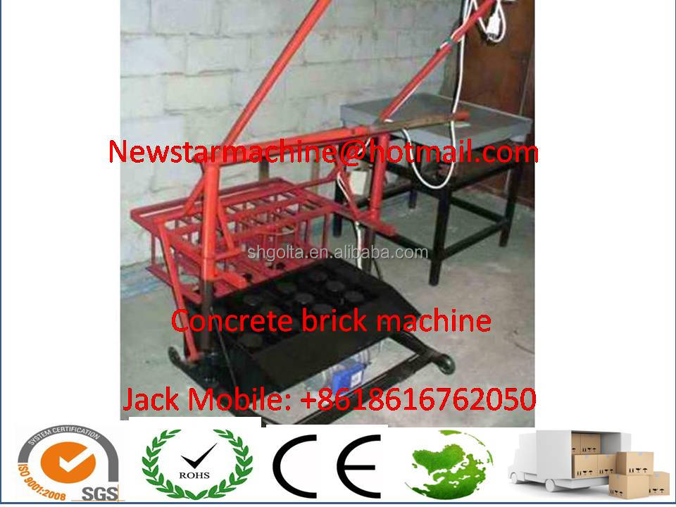 automatic clay brick making machine for building with concrete blocks
