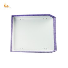 Stylish Office/Home Purple Color Frabric File Tray