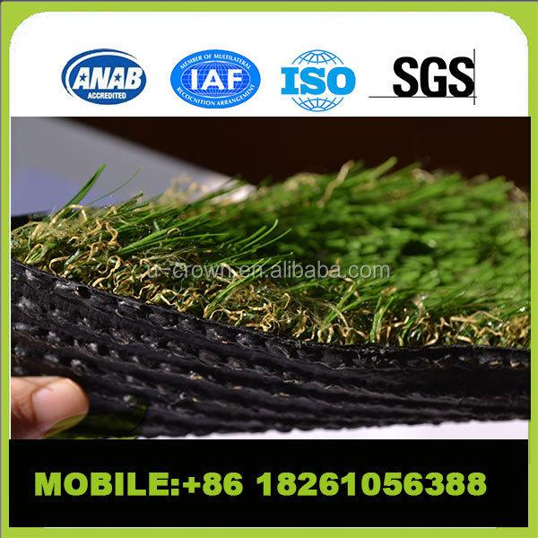 High quality artificial /plastic grass carpet decorative artificial grass for soccer field