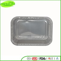 China factory price aluminum foil container foil container with partition inside
