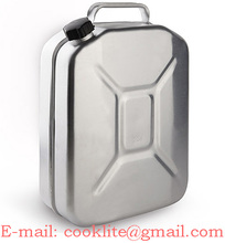 20L Aluminum Jerry Can Aluminum Water Fuel Oil Wine Can