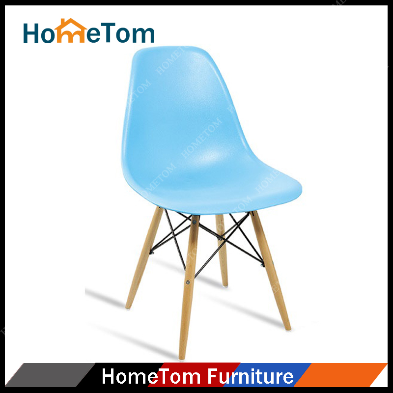 French style modern cheap blue leisure chair plastic restaurant furniture