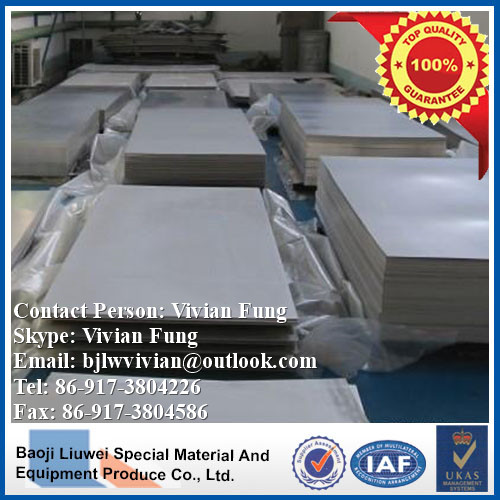 high quality ta10 titanium sheet from liuwei