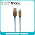 2016 fashion mfi certified USB power data cable for iphone6S