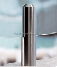 Core Mount Decking Tempered Glass Railing with core drilled spigots