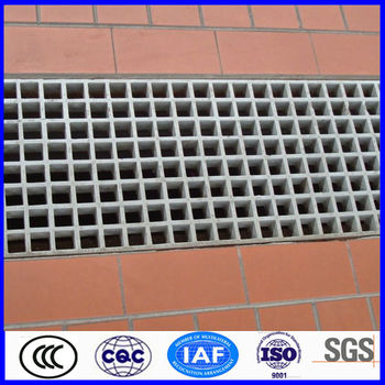 high strength frp trench drain grating cover