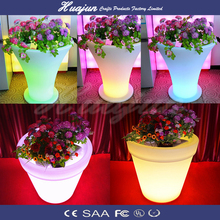 flower pot big plastic led