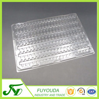 Disposable customized ESD electronic plastic blister tray