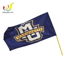 New style most popular custom outdoor college flag