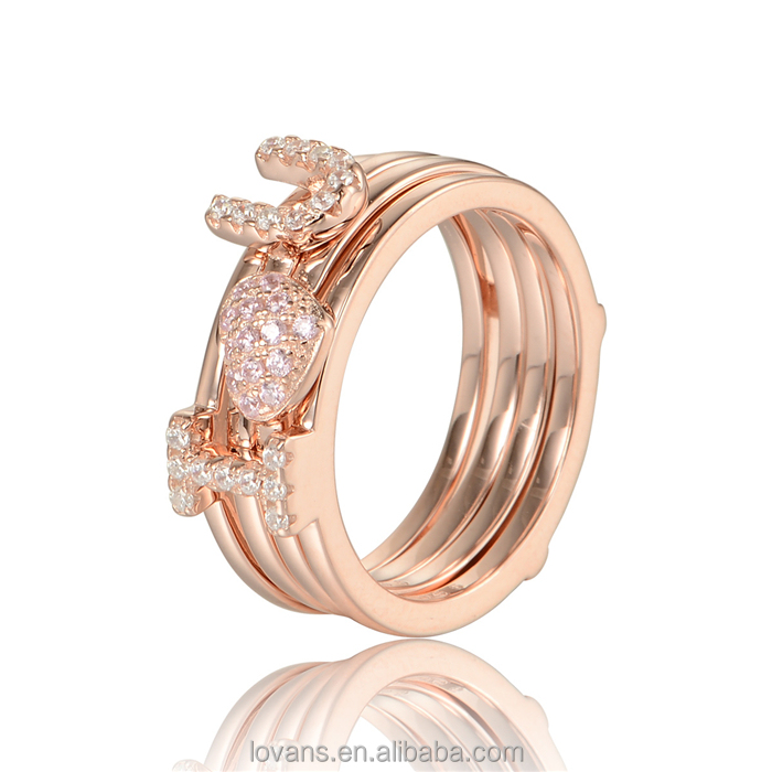 Synthetic Diamonds For Sale Ladies Gold Finger Ring Gold Ring Models RIPY047-8