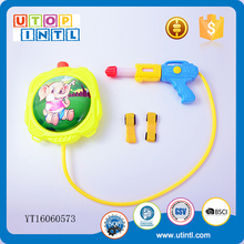 Promotional best toy big backpack water gun for kids