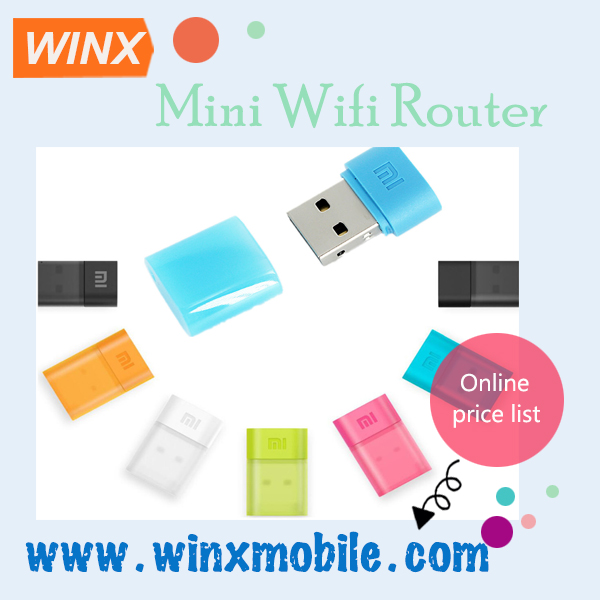 For Xiaomi Mini Wifi Router USB Portable 150Mbps WIFI Wireless Router Internet Adapter For Mobile Phone and tablet
