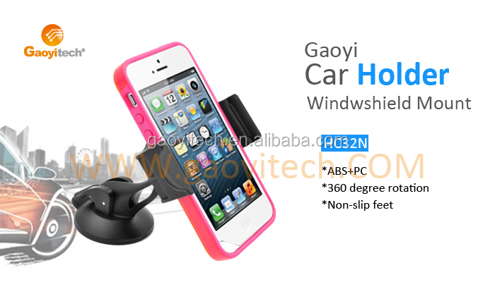 Car mount holder 3.5-5.3 inch Sun Visor Phone Automobile Holder SmartPhone Holder HC32N