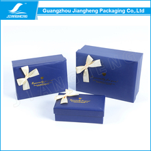 Jiangheng Promotional Fancy Printed Art Paper Christmas Gift Packaging Box