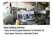Japan Made Used Gear Hobbing Machine
