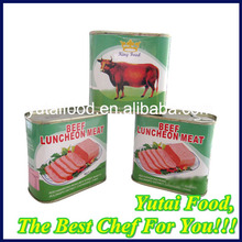 Canned Luncheon Beef Meat Factory