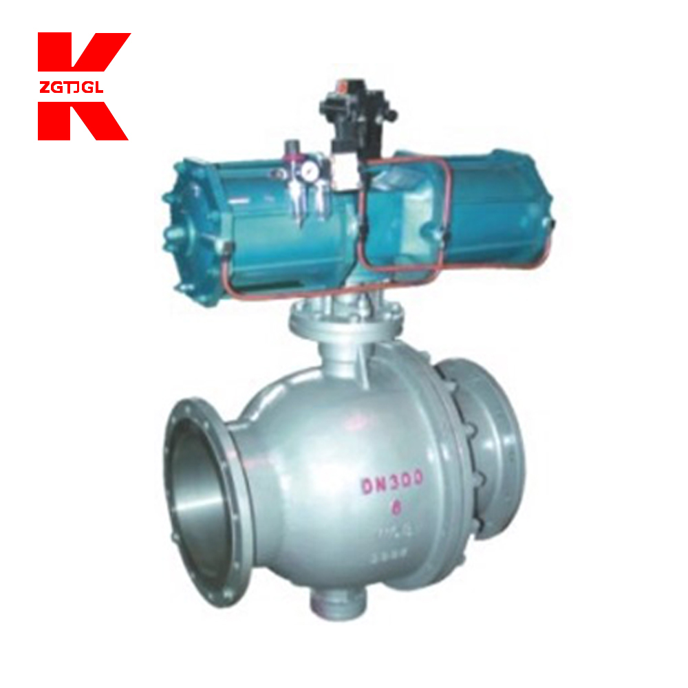 Full bore flange ball valve cf8m 1000 wog