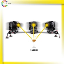 Motorized wire controller camera slider moving dolly 120cm electric timelapse slider