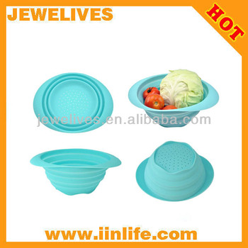 silicone vegetable basket,fruit container
