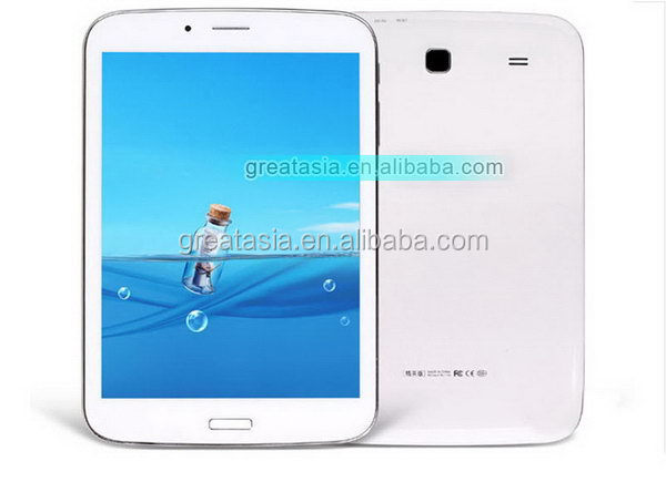 7.85 inch MTK8312 Dual Core glx mobile phone 3g sim card slot